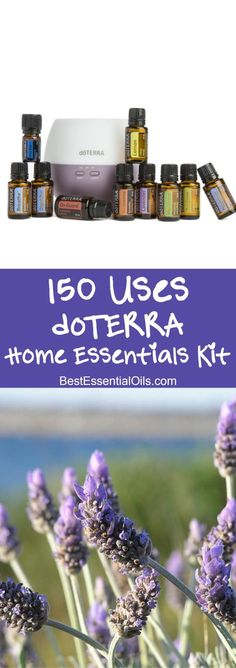 150 Uses of the Home Essentials doTERRA Starter Kit