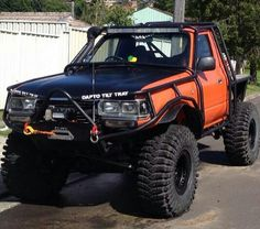 Now I know what to do with the next rear-ended 80 I find. Landcruiser Ute, Landcruiser 80 Series, Land Cruiser Fj80, Toyota Land Cruiser, Toyota 4x4, Toyota 4runner, Nissan Patrol, Mini Trucks, Offroad