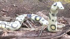 Snake Gruffalo Trail, St Andrews, Botanical Gardens, Snake, A Snake, Snakes