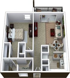 Adagio at South Coast - Floor Plans