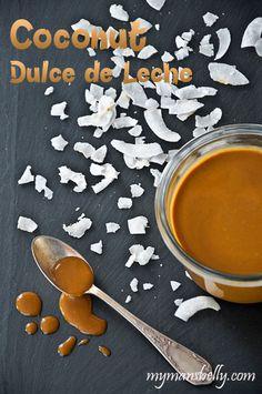 dulce de leche, coconut milk recipes, how to make dulce de leche