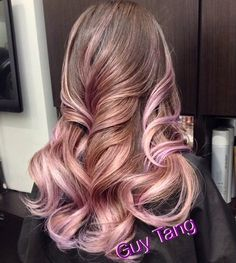 Blonde Hair With Lavender Ombre Guy tang lavender blonde ombre