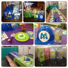 Sons 5th monsters inc & university party