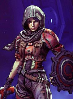 Athena: G L A D I A T O R #borderlands #presequel - Having so much fun playing this character!