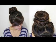 Love #3, a twist to my normal bun that I do ALL time!