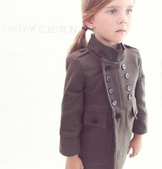 The Cadette Coat PDF pattern and tutorial by CaliFayeCollection