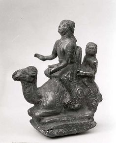 Camel and riders.  Period:     Nabataean. Date:     ca. 1st century B.C.–1st century A.D.  Geography:     Levant or Syria. Culture:     Nabataean. Medium:     Silver