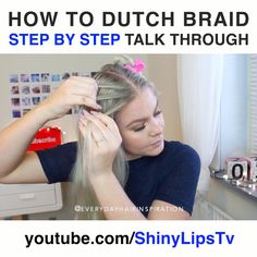 Braiding Your Own Hair, How To Cut Your Own Hair, Braids For Long Hair, Cut Own Hair, Medium Hair Braids, Work Hairstyles, Braided Hairstyles Tutorials, Wedding Hairstyles, How To Make Braids