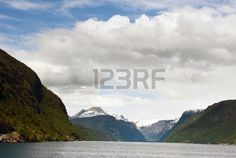 View of the Hardanger fjord in Norway