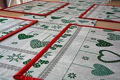 Úžitkový textil - Vianočné prestieranie, sada 4ks - 7334791_