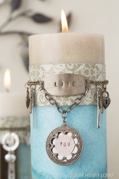 No need to stop at jewelry— these sweet stampables make a charming addition to your living room basics! We've added them to candles, custom frames and wall art. Pair them with coordinating charms and beads, and you've got a personalized gathering spot.