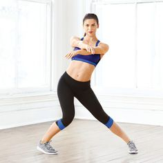No-Equipment Cardio Moves   Latin Side Step: Works inner and outer thighs