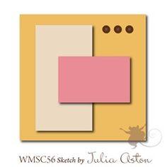 Waltzingmouse Sketch Challenge: WMSC Card Sketch #56