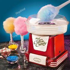 Retro Cotton Candy Maker Mini Sugar Cotton Candy Machine HHIHE-370581