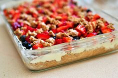 The Coach's Oats Blog: Oatmeal Cheesecake Bars