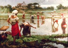 Filipino Historical Painter | Fernando Amorsolo 1892-1972