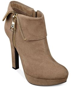 HMMM....WITH MY EMPLOYEE DISCOUNT........ G by GUESS Women's Rocket Foldover Platform Shooties - Boots - Shoes - Macy's