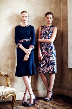 I love the contrast in this. Erdem Resort 2013 Collection | Tom & Lorenzo