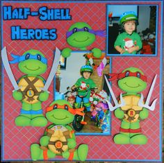 """""""Ninja Turtle"""" file from Cuddly Cute Designs.  DT~Bobbi https://www.facebook.com/im.playing.with.paper/"""