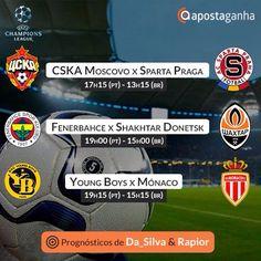 #Prognósticos #apostaganha para a qualificação da #UEFA #ChampionsLeague: ⚽ http://www.apostaganha.pt/cat/de-futebol/champions-de-futebol/ #futebol #apostas #UCL #apostasdesportivas #midtjylland-#apoel #cskamoscou #spartapraga #youngboys #monaco #bets #sportsbetting #apostasonline #apostasesportivas #predictions #instasoccer #instafootball #footy #football