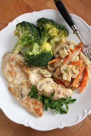 sio-smutki! Monika od kuchni: Jednogarnkowe: filet z kurczaka z warzywami Broccoli, Chicken, Dinner, Vegetables, Food, Exercise, Diet, Dining, Ejercicio