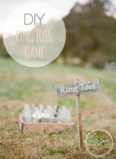 DIY Ring Toss Game {Tailgating Game} - Megan Brooke Handmade