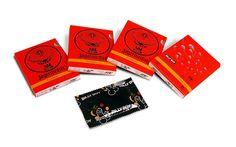 Werbung, Marketingkommunikation, Werbemittel, Werbeartikel, Druck: Werbekondome, Kondome in individuell bedrucktem Pa...
