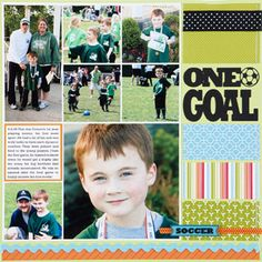 Sports Scrapbook Pages
