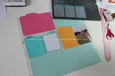 How to make different types of tabbed cards for Project Life.