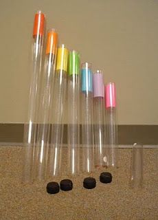 I don't know if I ever will....I may go crazy someday!!!     Music Technology Blog: Boomwhackers...make your own.