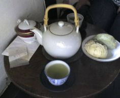 Japanese Cafe in Kagurazaka, Tokyo Tea and Manju Tea Pots, Tokyo, Menu, Kitchen Appliances, Japanese, Tableware, Sweet, Menu Board Design, Cooking Utensils
