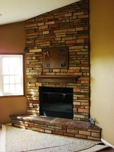 Corner Fireplace Ideas Browse Through These Fire Place Remodeling Concepts Making Use Of Faux