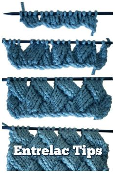 Entrelac knitting looks scary, but trust me, you can handle it! Here are some tips to help your first venture into entrelac be a success. #coolknittingpatterns