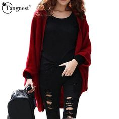 b19f356227 TANGNEST 2016 New Fashion Women Casual Knitted Sweater Long Sleeve Coat  Jacket Outwear Tops Cardigan Female