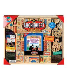 Take a look at this ArchiQuest Deluxe World Fusion Set by T.S. Shure on #zulily today! $110 !!