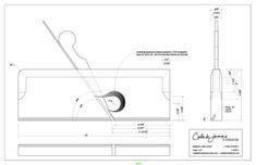 Caleb James Chairmaker Planemaker: Free Wooden Rabbet Plane Plans