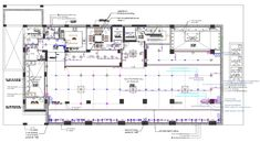 the AutoCAD drawing of corporation building floor plan that shows cut out for ba. the AutoCAD drawing of corporation building floor plan that shows cut out for basement above, stair Auditorium Plan, Auditorium Design, Auditorium Seating, Types Of Architecture, Architecture Plan, Hall Design, Layout Design, Set Design, Theater Plan