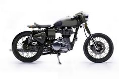 Royal Enfield single seat cafe. very clean!