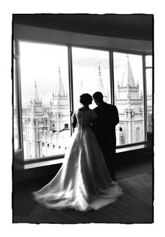 Amanda Bowers photography: SLC temple wedding photos- I want one like this when we get married if we have the windows to Columbus