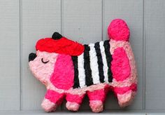 French poodle pinata