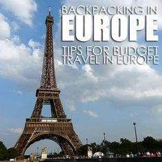 how to pack for a backpacking trip through europe