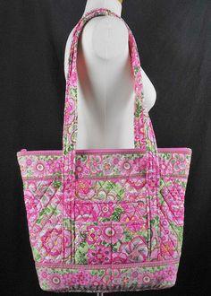 Vera Bradley Petal Pink Villager? Tote Bag Purse | eBay