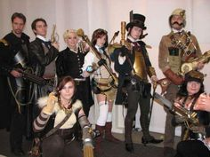REFERENCE: for steampunk Costumes & Staging !!   - MIGHT be helpful at some point in time!
