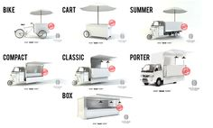 Ideas for mobile food carts and stalls on wheels  ||| Visual Merchandising + Creative Direction for Small Business ||| www.sarahquinn.com.au