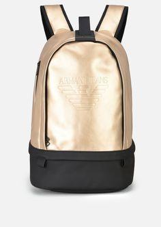 db1e8ae8c3d EMPORIO ARMANI Backpack.  emporioarmani  bags  polyester  backpacks   Armani  Men,