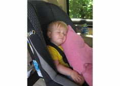 Nap time on the go. Dealing with naps when you are on vacation.