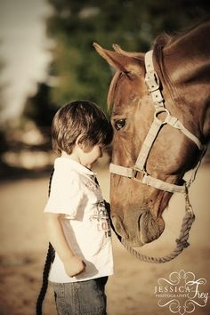 horses and children = favorite thing ever <3