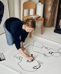 Home Decoration Ideas Vintage These Successful Women Will Inspire You To Make Time For Your Hobbies.Home Decoration Ideas Vintage These Successful Women Will Inspire You To Make Time For Your Hobbies Painting Inspiration, Art Inspo, Art Sketches, Art Drawings, Muuto, Successful Women, Art Studios, Artist At Work, Line Art