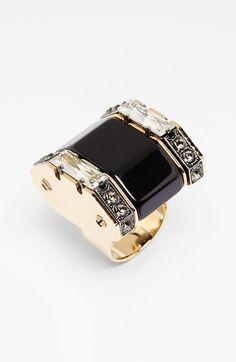 Lanvin Crystal Bezel Ring available at #Nordstrom