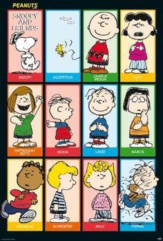 Peanuts - Snoopy & Friends 2 Poster Poster Print, 27x40 by Generic, http://www.amazon.com/dp/B0016D8232/ref=cm_sw_r_pi_dp_iTZ8rb1CY97XK